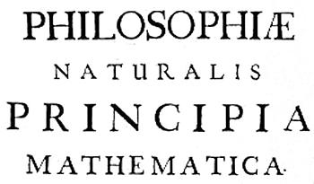 Principia Mathematica / Newton