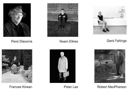 Retratos de Matematicos (C) Marina Cook