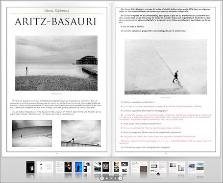 Revista Grupo Flickr Fotografos de Zaragoza
