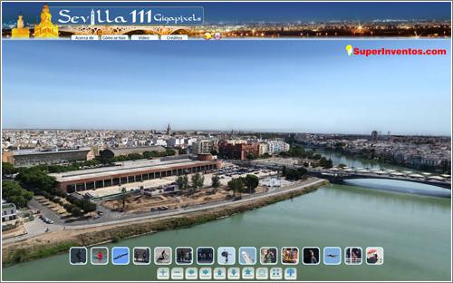 Sevilla en una panorámica de 111 gigapíxeles