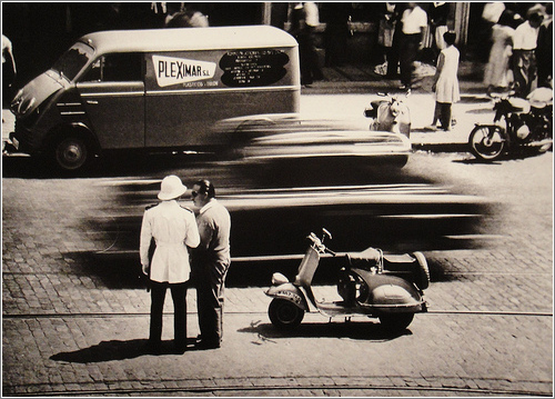 Tetuán, Madrid (1958) / Cortesía de Ángel Rojo Gutiérrez