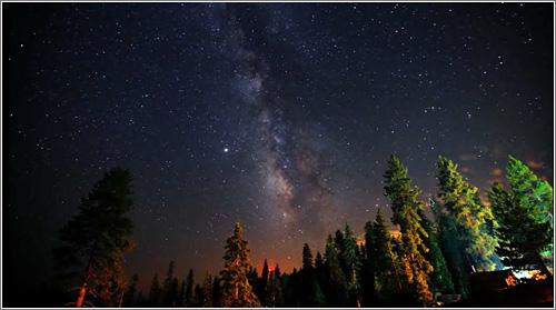 Time-lapse: Vía Láctea (c) Dan Heller