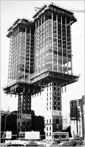 Torres de Colón, Madrid (1965) / Cortesía de Máximo de las Casas Pulido