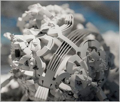 Path Tracing 3D Fractals