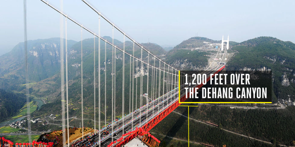 Aizhai Suspension Bridge, China