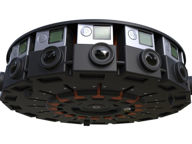 GoPro Array de 16 camaras 360 grados