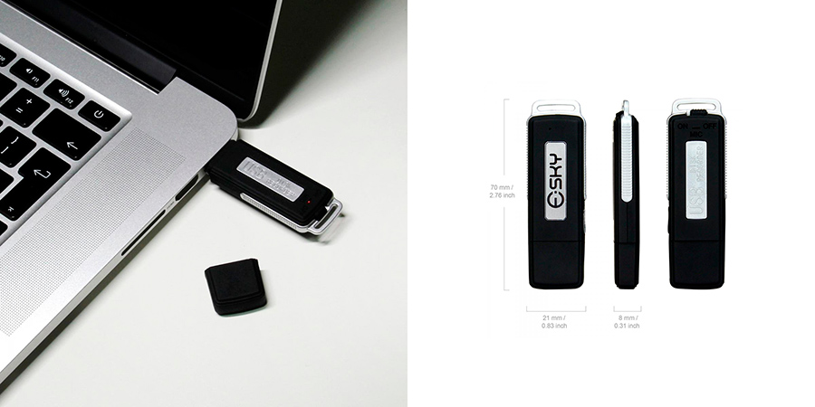 Mini-grabadora Esky VR-01