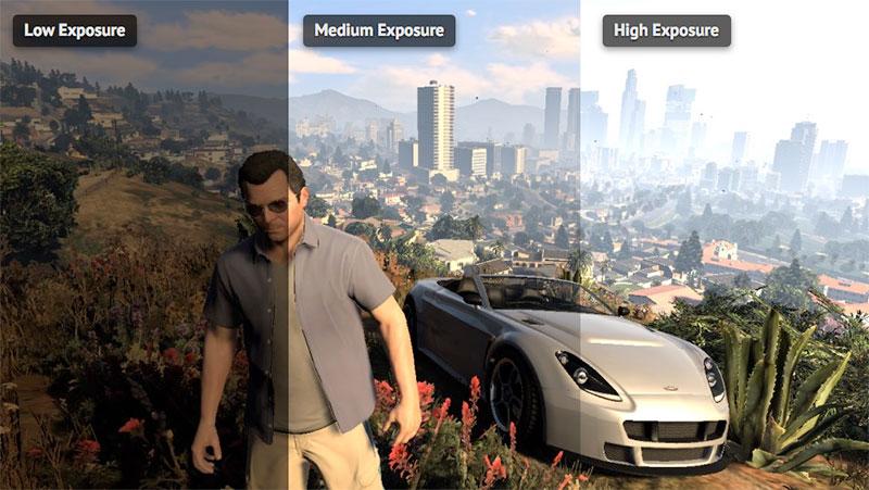 Grand theft auto V lo que sucede en 1 ms [PC/Xbox/PS]