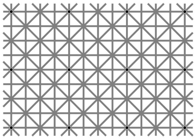 12 puntos negros