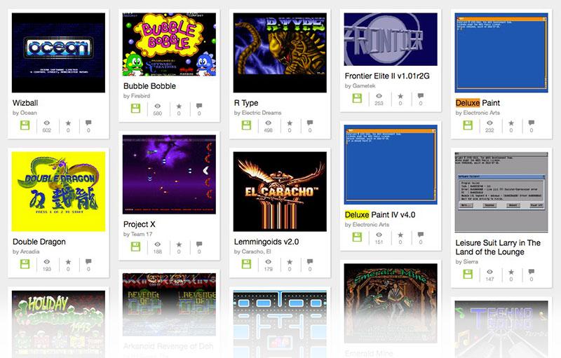 Amiga: emulador, software y juegos de la época en Archive.org