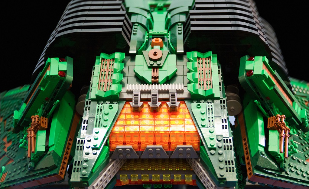 Una Ave de presa Klingon de Lego