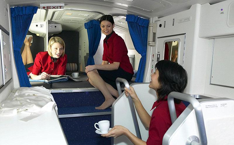 Boeing Crew Area