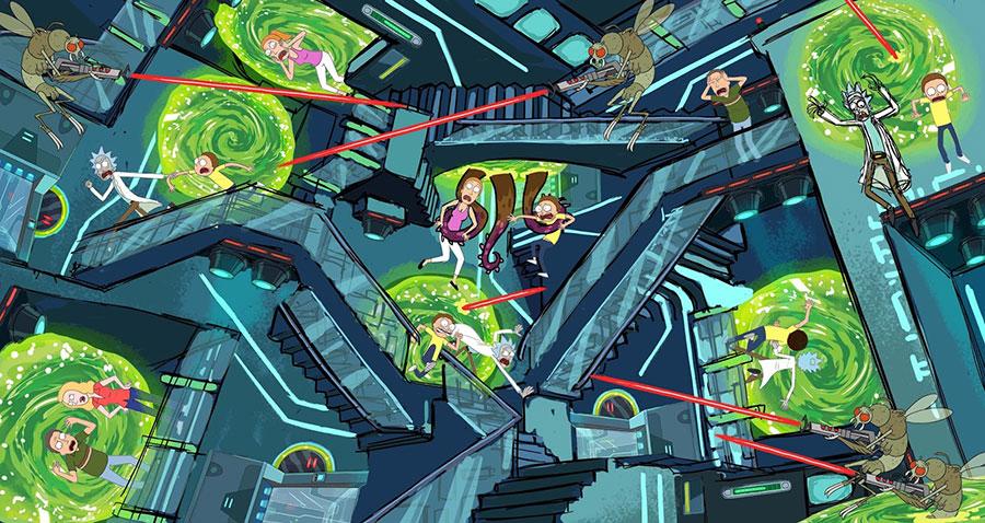 Esche: Rick y Morty