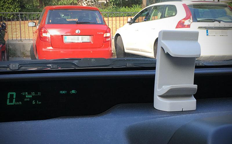 Ffirme en el coche