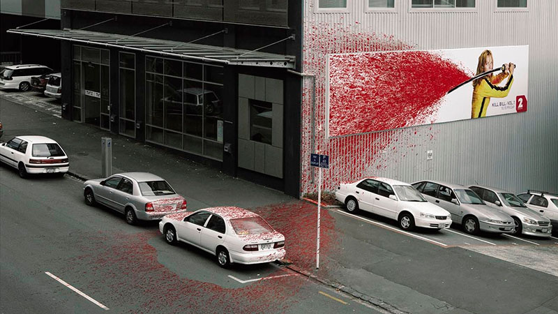 Kill Bill Billboard / Saatchi & Saatchi