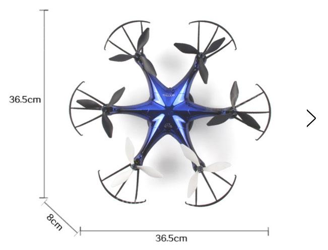 Dron LiDi RC L6