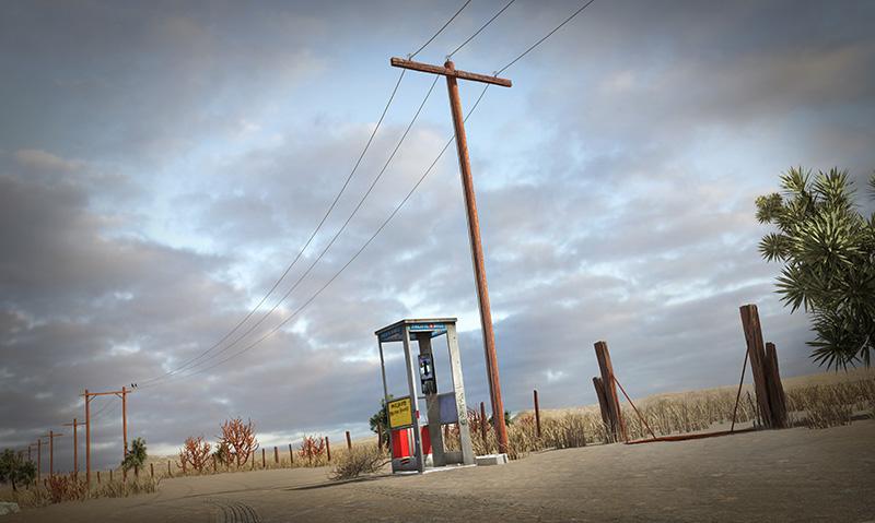 Mojave Phone Booth / Preston B.