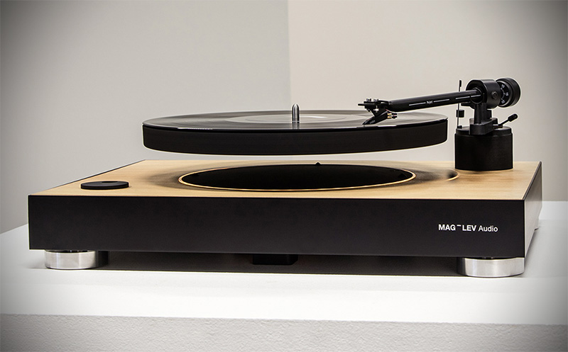 Mag Lev Audio Levitating Turntable