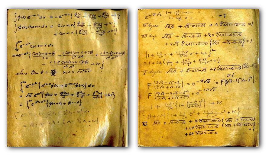 Notebook Ramanujan