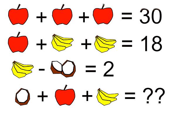 Platanos + Manzanas + Cocos