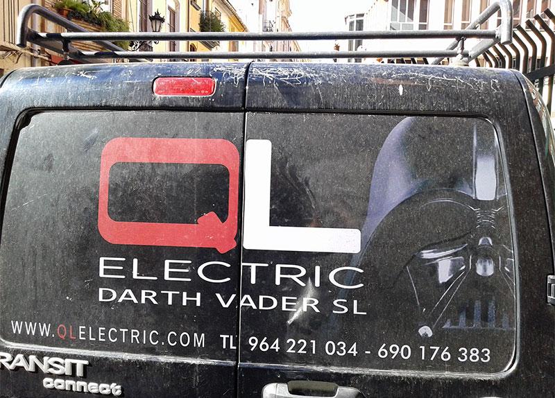 QL Electric Darth Vader