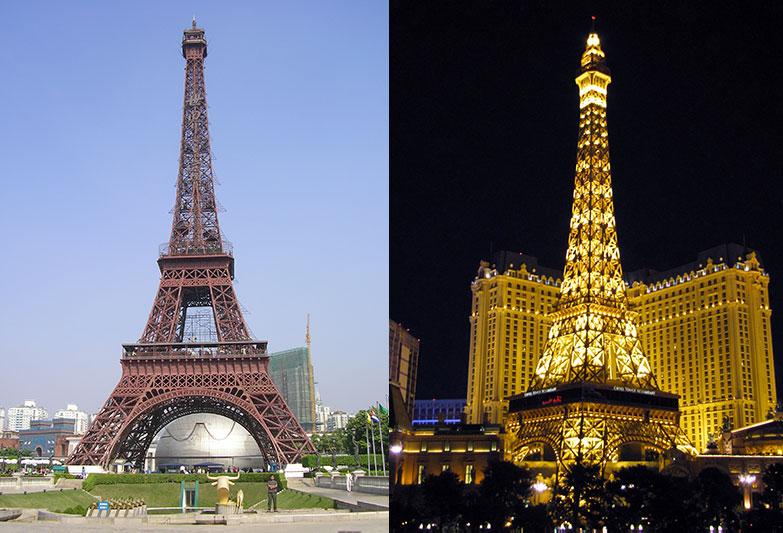 Réplicas de la Torre Eiffel