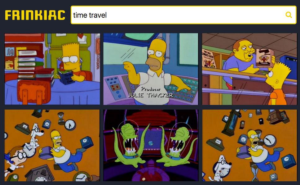 Buscador de Los Simpsons
