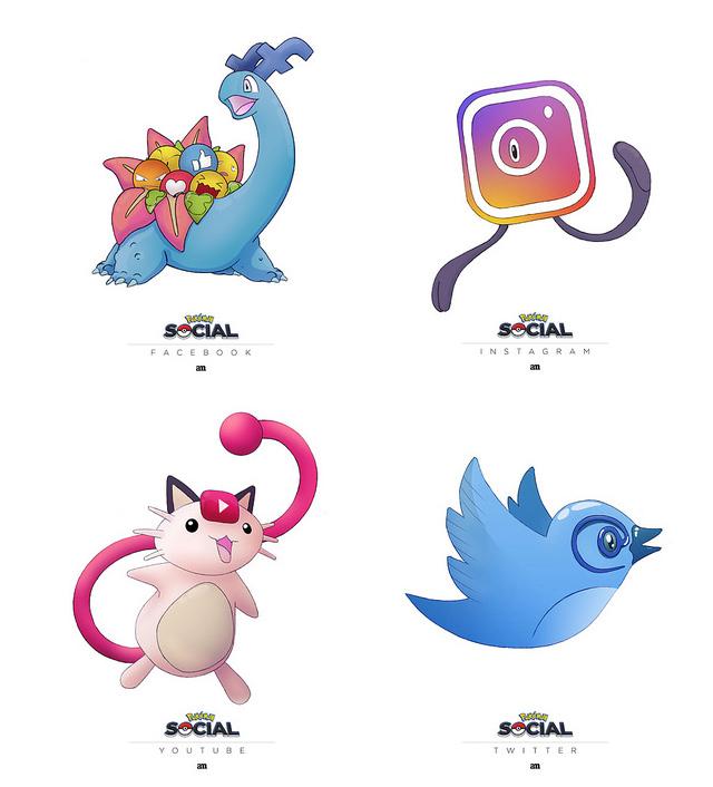 Pokémon + Social