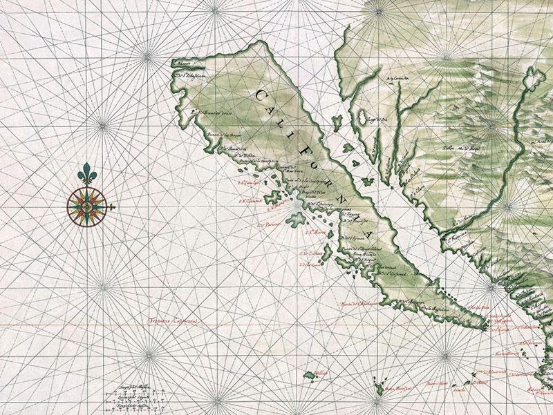 Vingboons california island