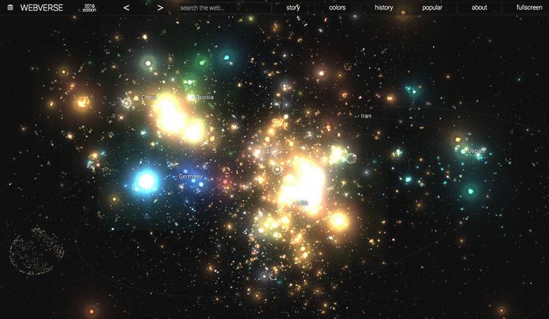 Webverse, el «universo de la web»