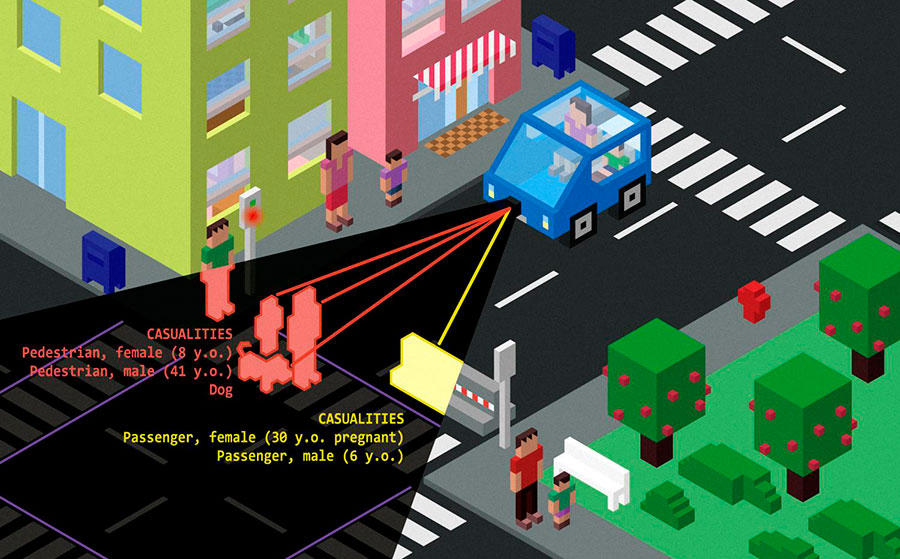 Driverless cars: Who gets protected? / MIT News