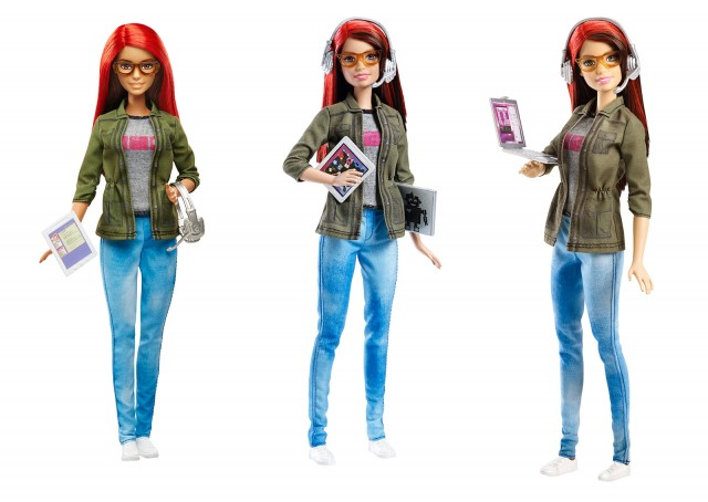 Barbie programadora dea videojuegos