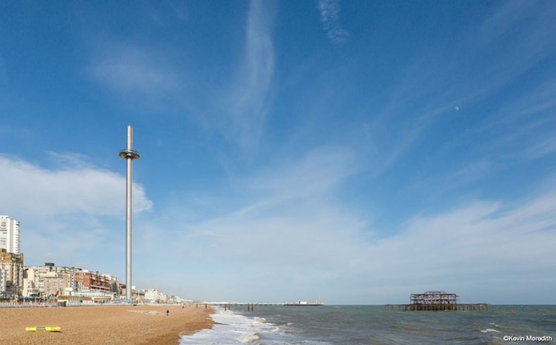 British airways i360 / Imagen: Marks Barfield - Kevin Meredith