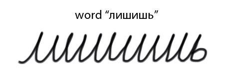 Caligrafia rusa en cirílico