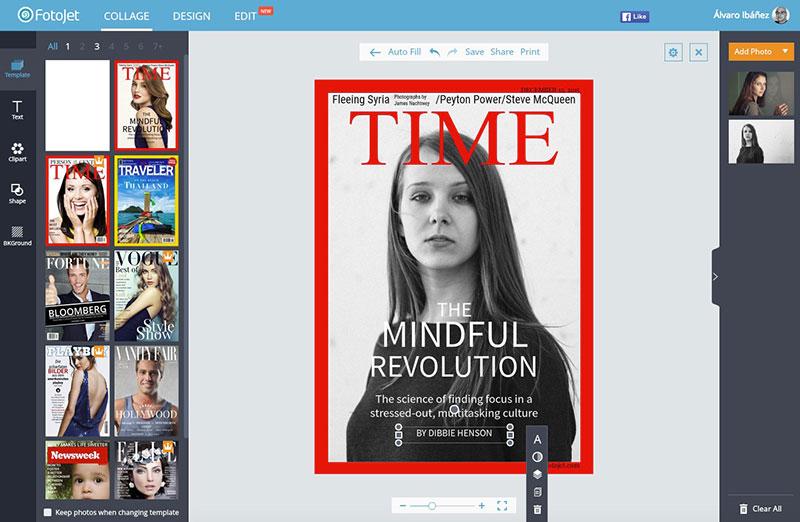 Fotojet, un servicio para crear «collages» fácilmente y sin salir ...
