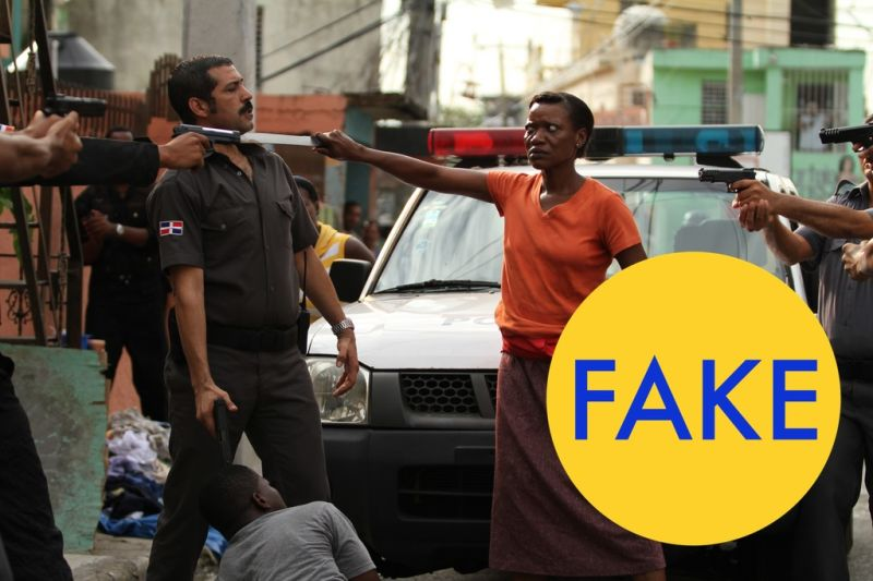 ¿Mujer Haitiana? FAKE