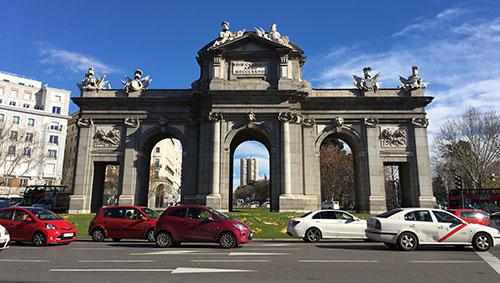 Puerta de Alcalá / iPhone 6s