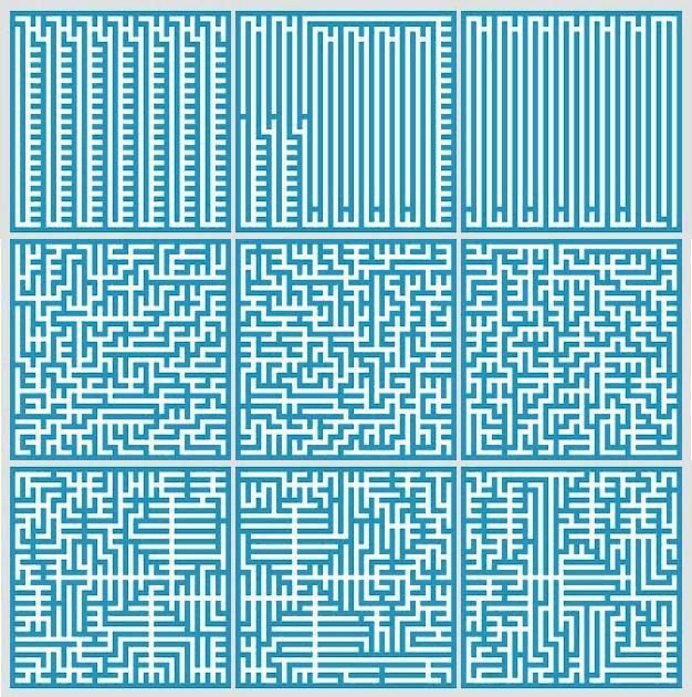 Interesting mazes