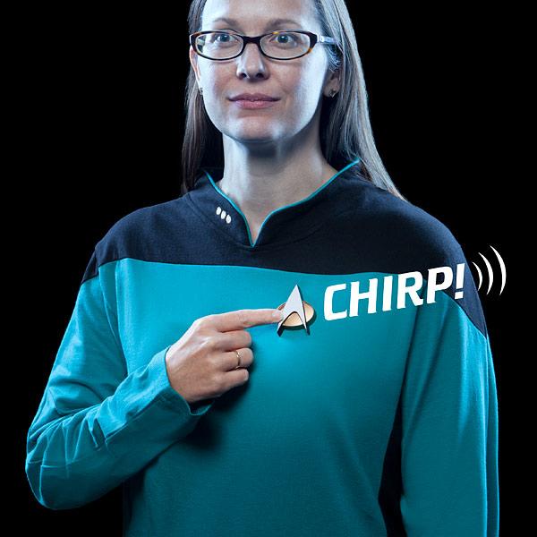 Star Trek Bluetooth Communicator Badge