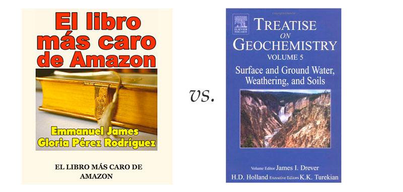 Los libros más caros de Amazon (o no)