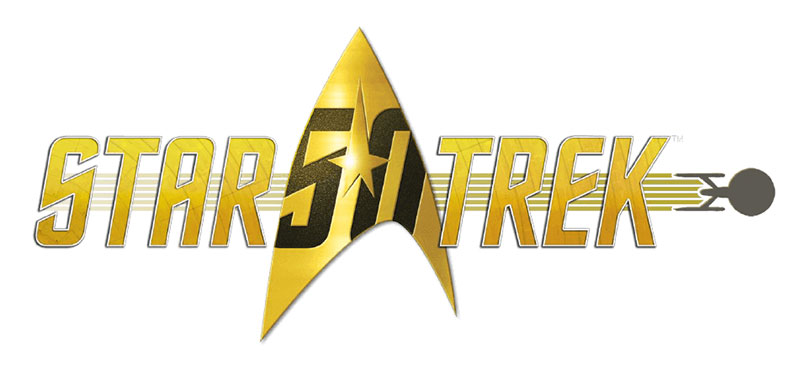 Logo Star Trek 50