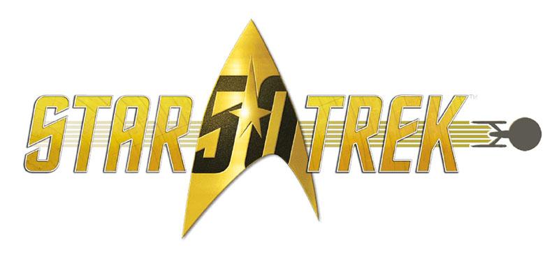 Logo Star Trek 50