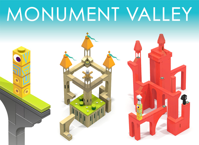 Monument Valley en Lego