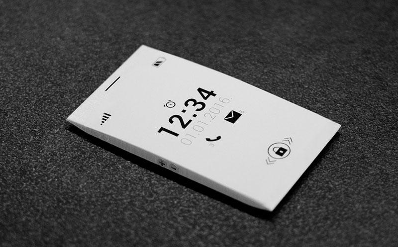Teléfono minimalista / Alter Ego