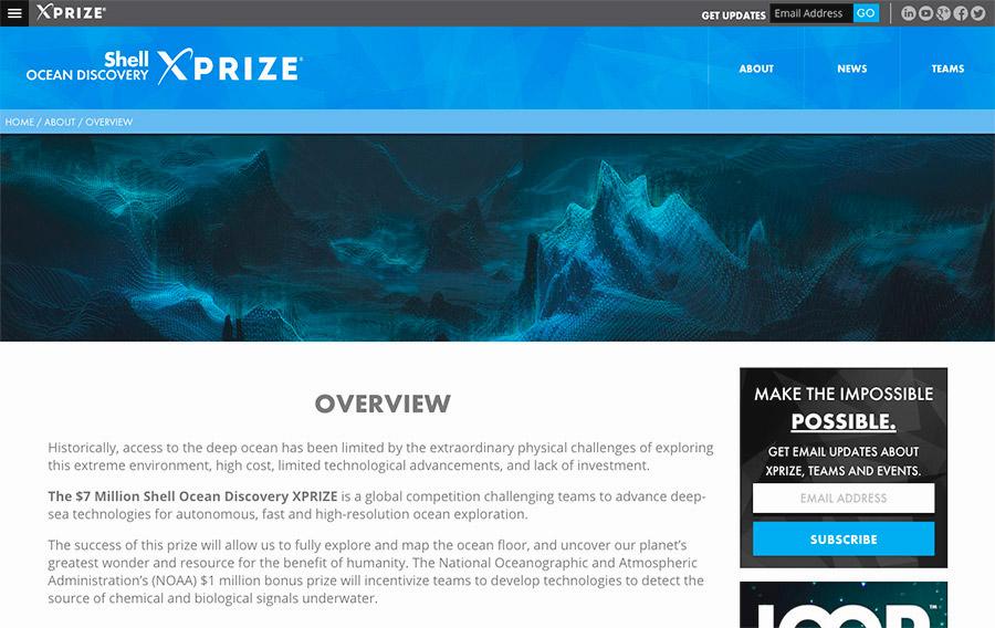 Ocean X Prize