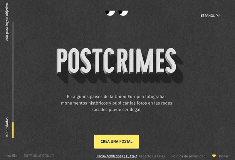 Postcrimes
