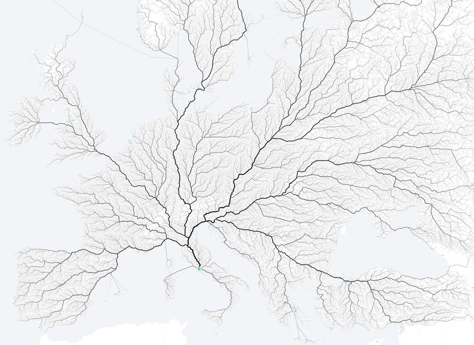 Roads to Rome / MoovelLab