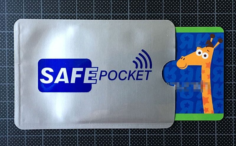 SafePocket: Fundas protectoras/bloqueadoras de tarjetas RFID