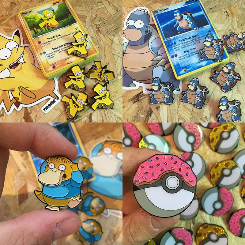 Simpsons pokemon