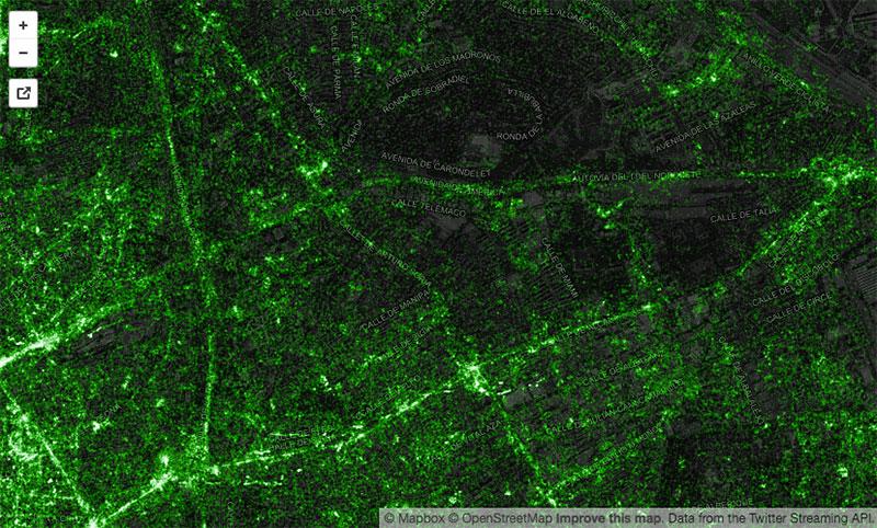 Mapa tuitero